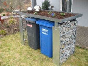 Mülltonnenbox Gabione