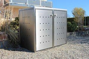 Mülltonnenbox Metall