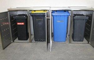 Mülltonnenbox 4er